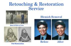 Retouching & Restoring